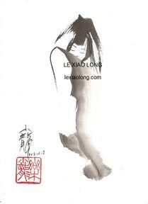 LE Xia Long http://www.lexiaolong.com/ beautiful brush paintings
