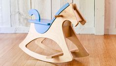 Rockin' Horse Project Here's a mod mare for the tyke who's going places. Scandinavian-inspired forms bring this centuries-old toy racing into the 21st century.