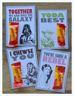 Last year my son was obsessed with Jaws and this year it's Star Wars. Since I was born in 1978, you can imagine how delighted I am... I borrowed the super cool character sketches from Alecia Dawn P...