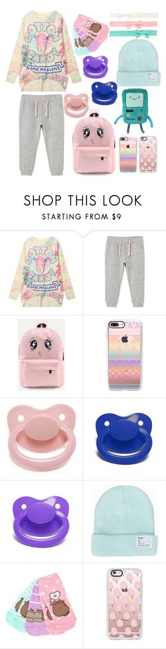 """Cotton Candy Pastels (ddlg/ddlb)"" by transboyfanboy ❤ liked on Polyvore featuring MANGO and Casetify"