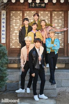 BTS: Photos From the Billboard Cover Shoot BTS In the latest issue of Billboard, BTS -- at home in Seoul -- talk about their fans, future and social change. Read the Billboard BTS cover story here. [BTS photographed on Jan. 2018 at Korea House in Seoul. Taehyung, Namjoon, Seokjin, Bts 2018, Bts Lockscreen, Jung Hoseok, K Pop, Bts Billboard, Billboard Magazine