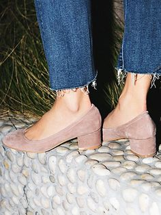jeffrey campebll + free people Cyndi Block Heel at Free People Clothing Boutique