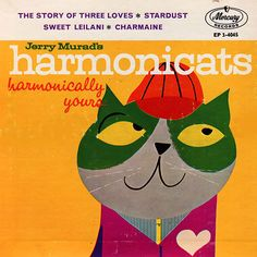 jerry murad's harmonicats - 45rpm record cover