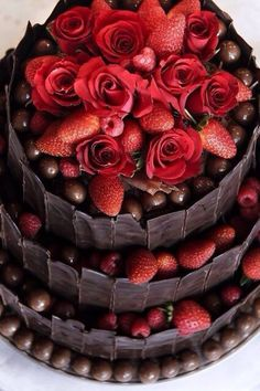 #erdbeer-torte #strawberry cake