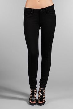 7 for All Mankind Gwenevere Ponte Knit Panel Skinny Leggings
