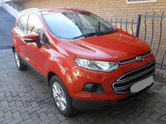 2013 Orange Ford EcoSport 1.0T Trend www.isellcarz.co.za contactus@isellcarz.co.za