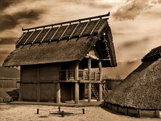exteriors of japanese houses | Ancient Japanese Houses 1 by Darthmiller