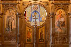 Резной коностас для православного храма в городе Стрельне.   #иконостас #храм #стрельна