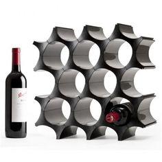 Qualy Petekli Şarap Rafı  Satın almak için, www.netlence.com