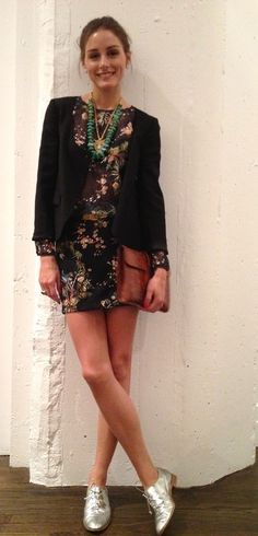 The Olivia Palermo Lookbook : Olivia Palermo In Zara