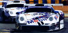 1996 Le Mans GT1 class 1st #25 Bob Wollek/Thierry Boutsen/Hans-Joachim Stuck and 2nd #26 Yannick Dalmas/Scott Goodyear/Karl Wendlinger. - Stuttcars.com