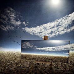 Heaven can wait, processing by Jeannette Woitzik