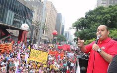 Vando Correia @vando_correia  11 hHá 11 horas Goiânia, Goiás Frente Povo sem Medo reúne 60 mil em protesto na Paulista contra Cunha. Jornais dão 600! http://www.viomundo.com.br/politica/frente-povo-sem-medo-reune-60-mil-manifestantes-em-protesto-na-avenida-paulista-contra-cunha-e-o-ajuste-fiscal-pasmem-os-jornais-dao-600.html…