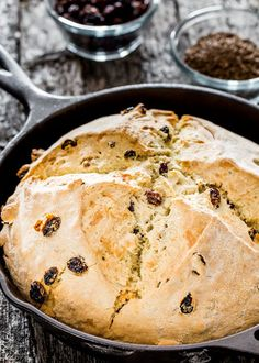 Corn Bread with Fennel Seeds, Dried Cranberries, and Golden Raisins ...