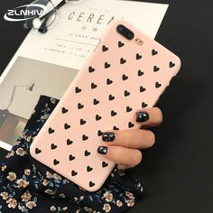 Sweet Cute Heart Iphone Case - for iphone X XS / C-Pink