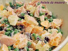 Pasta Salad, Potato Salad, Potatoes, Ethnic Recipes, Food, Fragrance, Salads, Crab Pasta Salad, Potato