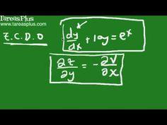 Qué es una ecuación diferencial parte 1