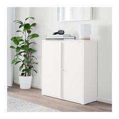 """IVAR Cabinet with doors - 31 1/2x32 5/8 """" - IKEA"""