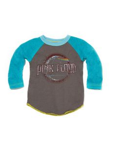 Toddler Boys Pink Floyd Graphic T-Shirt Rock Band Turquoise Size 2T