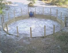Awesome way to put an above ground pool in the ground so for Cheapest way to put in a pool