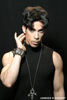 CELEBRATING BLACK MUSIC MONTH: Prince impersonator, Legends in Concert - The Soul FM.... this guy is buff.