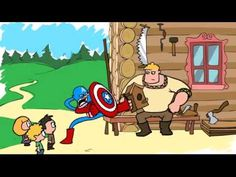 Видео: ★★★« #Капитан #америка #VS #Русский #боготырь »★★★