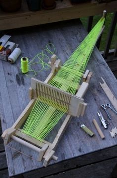 "How To Build A Rigid Heddle Loom For Weaving  Homesteading  - The Homestead Survival .Com     ""Please Share This Pin"""