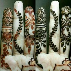 Here we have brought New Mehndi Design Images For Kids for your inspiration. If you are intended to wear a traditional look, then mehndi will maximize to give you that avatar. Simple Henna Designs, Finger Henna Designs, Henna Art Designs, Mehndi Designs For Girls, Mehndi Designs 2018, Mehndi Designs For Beginners, Mehndi Designs For Fingers, Mehndi Design Pictures, Bridal Mehndi Designs