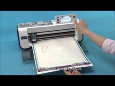 Brother™ ScanNCut Feature:Turn Artwork into Custom Cut Files - YouTube