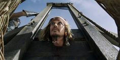 Captain Jack Sparrow Guillotine Pirates of the Caribbean Dead Men Tell No Tales 5
