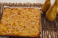 Photo de recette de tarte poire mascarpone facile, rapide, léger, bio de Kilomètre-0, blog de cuisine réalisée à partir de produits locaux et issus de circuits courts
