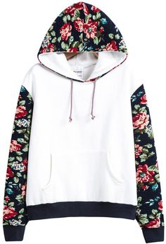 Description Shoulder(cm) :52cm Size Available :one-size Sleeve Length(cm) :53cm Length(cm) :58cm Bust(cm) :116cm Type :Pullovers Pattern Type :Floral Print Color :White Neckline :Hoodie Sleeve Length                                                                                                                                                                                 Mehr