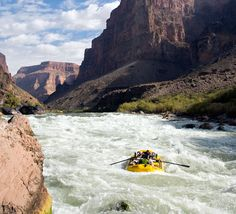 Men's Health #1 Pick: Colorado River through the Grand Canyon. As the editors point out, travel should transform, so choose your destination wisely. This kind of travel (let's face it, the best kind) isn't exactly relaxing, but is mere relaxation ever really that satisfying?