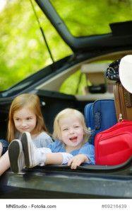 Mit Auto und Familie in den Urlaub