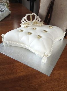 Princess pillow cake by Lovely Sweet Cakes, via Flickr