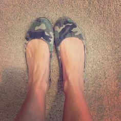 Camo flats Comfy cute flats Shoes Flats & Loafers