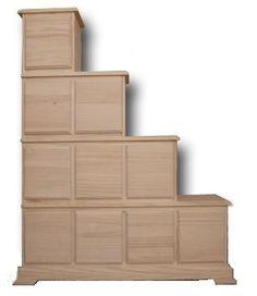 Escalera cucheta alta1 650 487 decoracion de for Mueble escalera ikea