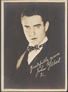Vintage Photo Hollywood Silent Movie Star John Gilbert Handsome Man 888148