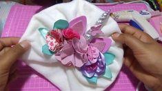 Turbante de unicornio con pedrería/ HOW to MAKE a turban/ moños, balacas, tutoriales,manualidades, - YouTube