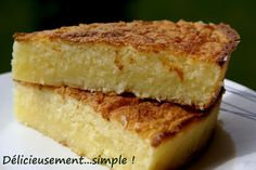 Délicieusement... simple !: L'extra fondant à la noix de coco