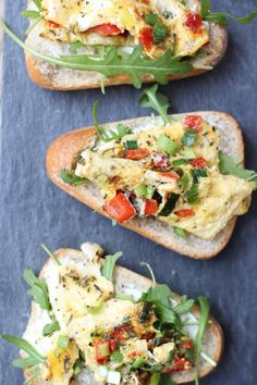 Omelet sandwich - Lekker en Simpel