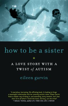 This book is a wonderful read and contains spot on descriptions of how people with autistic family members can feel sometimes!  How to be a Sister, by Eileen Garvin