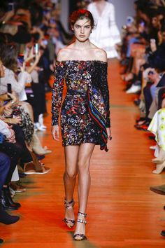 6eb77334be8b7 Elie Saab Spring 2019 Ready-to-Wear Fashion Show Collection  See the  complete