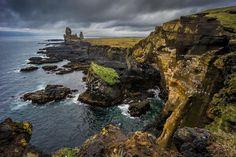 Rugged coastline of Snaefellsjoekull National Park by William Yu on 500px