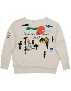 Bobo Choses AW14 Light Grey Chateau Marmont Sweatshirt