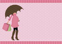 Convites para Chá de Bebê editáveis grátis para baixar, editar e imprimir - Cantinho do blog Layouts e Templates para Blogger