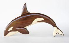 Items similar to Orca Killer Whale Intarsia Wall Hanging Wooden Animal Carving Wood Decor Sea Life Decoration on Etsy Bois Intarsia, Intarsia Holz, Wood Carving Designs, Wood Carving Patterns, Intarsia Wood Patterns, Dremel Wood Carving, Whittling Wood, Wildlife Decor, Wooden Figurines