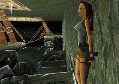 Tomb Raider (Video Game 1996) Tomb Raider Video Game, Tomb Raider 1, Tomb Raider Lara Croft, Caves, Raiders, Videogames, Plush, Doll, Art