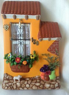 Diy Crafts Slime, Clay Crafts, Diy And Crafts, Cactus Ceramic, Polymer Project, Doll House Crafts, Clay Art Projects, Clay Paint, Pebble Pictures
