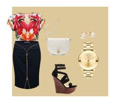 """""""Interview 'Fits"""" by franchezcastyles on Polyvore featuring Ted Baker, Versace, JustFabulous, Mulberry, Movado, Kate Spade, interview and Fit"""